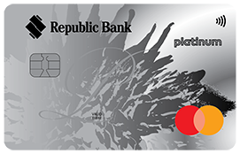 Republic Bank International Platinum Mastercard Credit Card