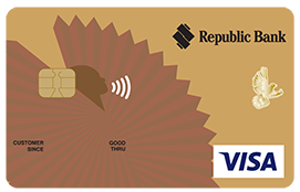 Republic Bank International Visa Gold Credit Card