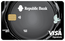 Republic Bank International Visa Signature Credit Card